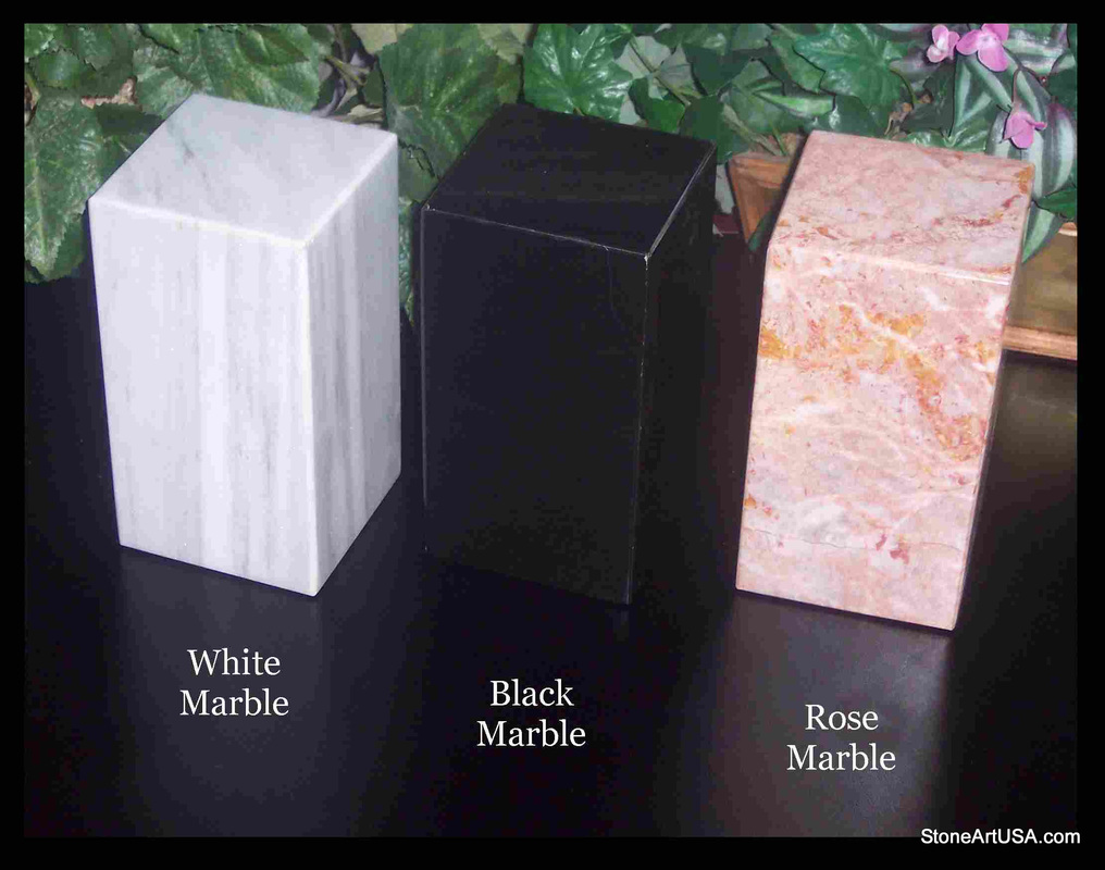 Custom Made Cremation Urns For Pets Marble Or Travertine