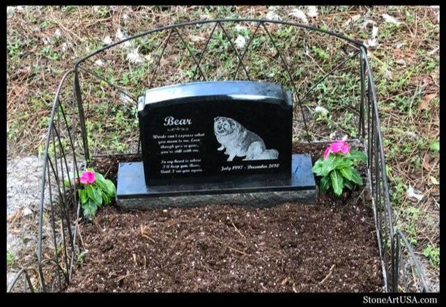 Custom grave marker. laser etched granite. Mini Monument sty CC01