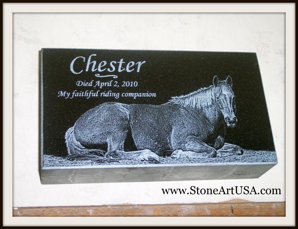 StoneArtUSA.com ~ horse & pet memorials & more since 2001